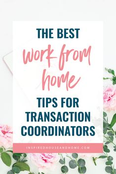 These 7 #workfromhome tips will help you take back your time and feel more productive! Working from home as a transaction coordinator has never been easier. // Inspired House and Home -- #wfh #entrepreneur Work From Home Tips, Make Money From Home, Way To Make Money, Make Money Blogging, Make Money Online, Business Tips, Online Business, Transaction Coordinator, Virtual Assistant Jobs