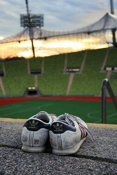Adidas samba x Olympic stadium munich