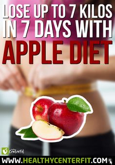 Lose 7 kilos in 7 days with this AMAZING apple diet!