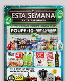 Folheto Esta Semana - 8 a 14 de Novembro na sua loja Pingo Doce