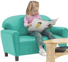 SupplyMe Online Teacher Supply Store (Formerly MPM School Supplies) Toddler Sofa, Toddler Furniture, Teal Chair, Teal Sofa, Teacher Supply Store, Teacher Supplies, Grandkids, Playroom, Infant