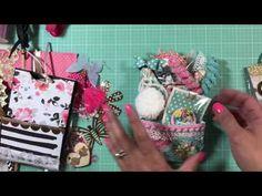 pocket card - Nice for a pocket in a mini album. Envelope Tutorial, Envelope Punch Board, Pocket Envelopes, Card Envelopes, Book Crafts, Paper Crafts, Scrapbook Paper Flowers, Snail Mail Pen Pals, Handmade Cards