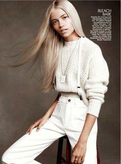 Светлая юность — фотосессия в Vogue Teen