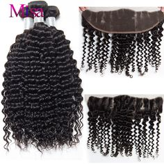 Aliexpress.com : Buy Peruvian Virgin human Hair curly Lace Frontal Closure With Bundles peruvian virgin hair beauty plus hair 3 bundles with closure from Reliable hair one natural hair suppliers on Mi Lisa Hair Products Co.,Ltd