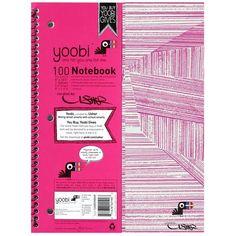 spiral notebooks   Yoobi