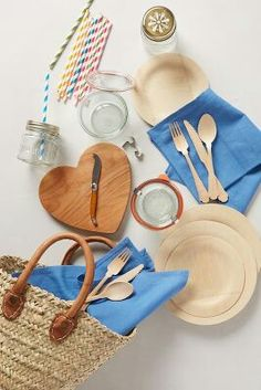 Cool picnic  set, probably could put it together for cheaper than what they want for it ////Anthropology