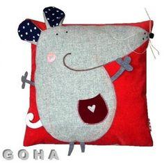 wesoła mycha | Cojines - Pillow 2