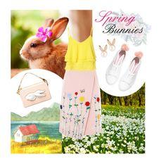 """Spring Bunnies"" by dieasta ❤ liked on Polyvore featuring VIVETTA, Glamorous, Andres Gallardo, Aamaya by Priyanka and Minna Parikka"