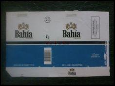 Coleção de carteiras de cigarros: MAÇOS LETRA B