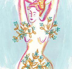 The Skinny - Jayde Perkin Illustration