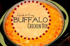 Buffalo Chicken Dip is one of our favorites and perfect for Game Day! It's perfect with pita chips or keep it low carb with celery sticks. | FaithfulProvisions.com