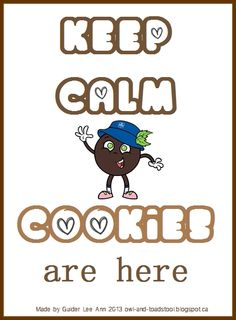We adore Owl & Toadstool's Keep calm posters! Girl Guides Cookies are here every spring and autumn season. Gs Cookies, Mint Cookies, Cookies Et Biscuits, Brownies Girl Guides, Brownie Guides, Girl Scout Cookie Sales, Girl Scout Cookies, Girl Guide Cookies, Cookie Games