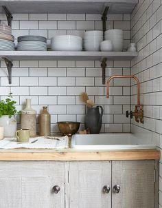 Trend Alert: 10 #DIY Faucets Made from Plumbing Parts. Remodelista shares growing trend http://www.remodelista.com/posts/trend-alert-10-diy-copper-piping-faucets-homemade-kitchen-and-bath-faucets/