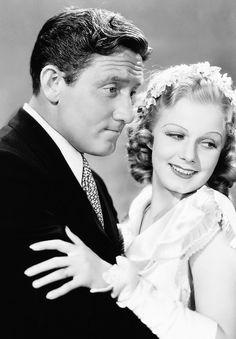Spencer Tracy & Jean Harlow in Riff Raff (1936)