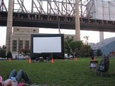 Outdoor Movies in Greenwood, Indiana