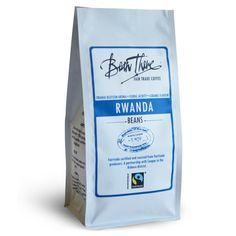 This Rwandan Kivu coffee is Fairtrade Certified. It has a light orange-blossom aroma with a creamy body featuring mandarin and caramel flavours.