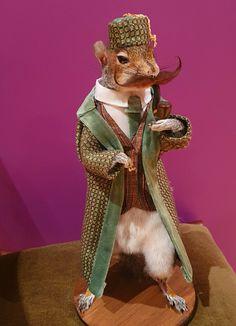 Taxidermy Squirrel in a Smoking Jacket Smoking Jacket, Taxidermy, Squirrel, Trending Outfits, Handmade Gifts, Unique, Jackets, Animals, Vintage