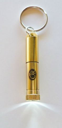 LDS Gold CTR Flashlight Keychain Aluminum Oil Vial for Concerated Olive Oil & Priesthood Holders of All Ages, Elders & Priests, Annointing, Blessing & Healing the Sick - http://mormonfavorites.com/lds-gold-ctr-flashlight-keychain-aluminum-oil-vial-for-concerated-olive-oil-priesthood-holders-of-all-ages-elders-priests-annointing-blessing-healing-the-sick/  #LDS #MormonFavorites #LDSGems