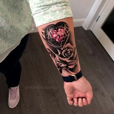 Ravishing Tattoos To Rock - Vincisjournal Arm Sleeve Tattoos For Women, Cover Up Tattoos For Women, Rose Tattoos For Women, Blue Rose Tattoos, Tattoos For Kids, Forarm Tattoos, Mom Tattoos, Body Art Tattoos, Hand Tattoos