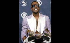 Kanye Grammy Style