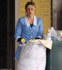 Bates Motel TV Show Norma Bates   is Norma Bates on set of Psycho preview show... but how does the Bates ...