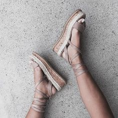 Blush Chunky Lace Up Sandals Pretty Shoes, Cute Shoes, Me Too Shoes, High Hells, Sock Shoes, Shoe Boots, Pumps, Heels, Baskets
