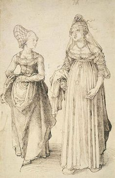 ALBRECHT DÜRER  Nürnberg and Venetian  c. 1495