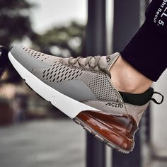 2019 spring New Sneakers man summer Running Shoes man for adults Trainers Lace-up Outdoors Athletic Comfortable Sport Shoes Non Slip Sneakers, New Sneakers, Athleisure Trend, Sport Shoes Price, Mens Fashion Shoes, Shoes Men, Brown Shoe, Unisex, Running Shoes For Men