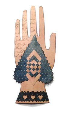 Primitive Heart in Hand