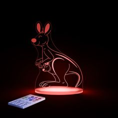 Children's LED Night Light, SleepyNight Aloka Kangaroo night light, kids led night light, baby night light   Baby Buy Direct