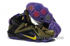 http://www.nikekwazi.com/nike-lebron-12-ps-elite-yellow-black-purple.html NIKE LEBRON 12 P.S. ELITE YELLOW BLACK PURPLE Only $88.00 , Free Shipping!