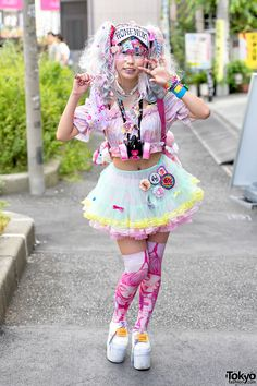 Harajuku Decora Fashion Walk Pictures 2015 Harajuku Decora Fashion Walk (26) – Tokyo Fashion News