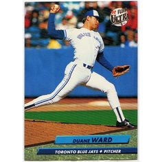 1992 TORONTO BLUE JAYS PITCHER DUANE WARD FLEER ULTRA BASEBALL TRADING CARD #154. Buy it on eBid Canada | 151874308