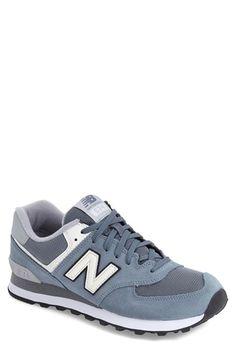New Balance '574 - Varsity' Sneaker (Men) Harbor Blue $79.95