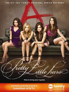 Do you love the new Pretty Little Liars poster art? Tune-in Tuesday, June 5th at 8/7c on ABC FAMILY