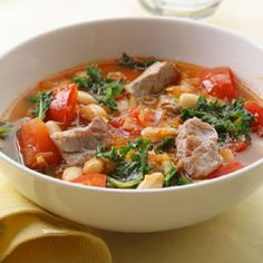 This hearty #pork #stew is a #healthy meal that's quick to make.