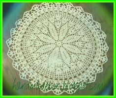 HandmadeBoni: Serweta - wiosennie... kwiatowo....