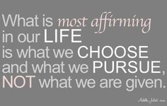 Choose and pursue the life you want! https://facebook.com/transformandgrowrich