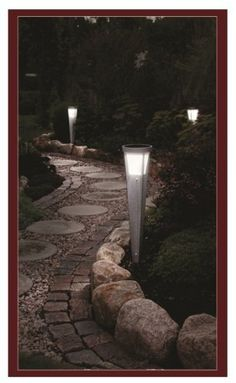 "Solar Path Light - High Power - ""MR. X"" - Solar Path Light - Contemporary Design - 26"" Super Bright by Britta Products. $69.95. A super high-performance and elegant solar path light. Stands over 20"" high when installed (26"" total length). Activated automatically at dusk.  High performance solar panel and 1000 mAH Lithium Polymer battery provides up to 8 hours of lighting.. Contemporary design, top quality materials, and highly effective in directing light onto ..."