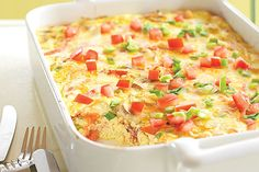 Crustless Bacon and Cheese Quiche