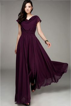 Exquisite OL Nip Waisted Maxi Dress