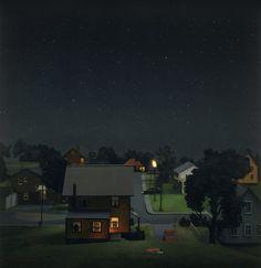 Sleeping Separately. Amy Bennett. (Painting, Lighting)