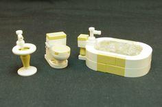 Construction Toys of the Year Lego Duplo, Lego Design, Legos, Bloc Lego, Lego Bathroom, Instructions Lego, Casa Lego, Lego Furniture, Minecraft Furniture