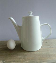 MELITTA * Kaffee-Kanne 8 - 110 * Porzellan weiß * 1 Liter * 60er * Mid Century | eBay 18,--