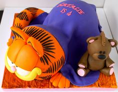 Celebrate with a Garfield Cake