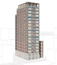BAUWELT - Von Brandlhuber bis Patzschke - die Entwürfe für die WerkbundStadt Planer, Skyscraper, Outdoor Structures, Building, City, Architecture, Photo Illustration, Scale Model, Skyscrapers
