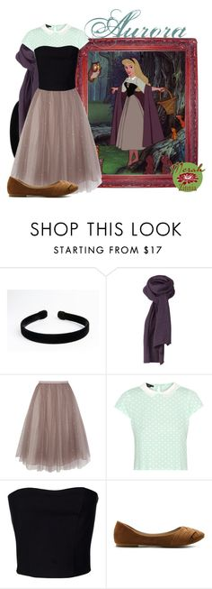 """""""Aurora"""" by merahzinnia ❤ liked on Polyvore featuring Disney, Coast, Ter Et Bantine and Ollio"""