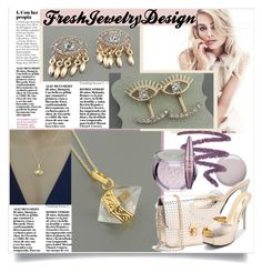 """Fresh Jewelry Design!"" by mery-2601 ❤ liked on Polyvore featuring Topshop, Maybelline and modern"