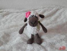 Horgolt bárány, az ari öri-bari :-) 2. - Kreatív+Hobby Easter Crochet, Diy And Crafts, Snoopy, Teddy Bear, Toys, Bari, Anime, Gifts, Character