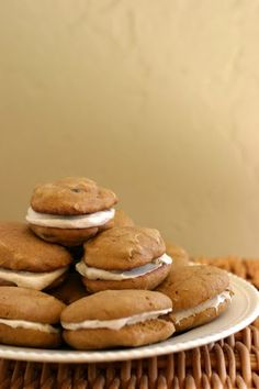 spice whoopi, whoopi pie, pumpkins, cooki, pumpkin spice, whoopie pies, spices, marshmallows, treat